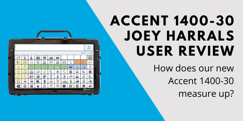 New Accent 1400-30 Device Review - Joey Harrall