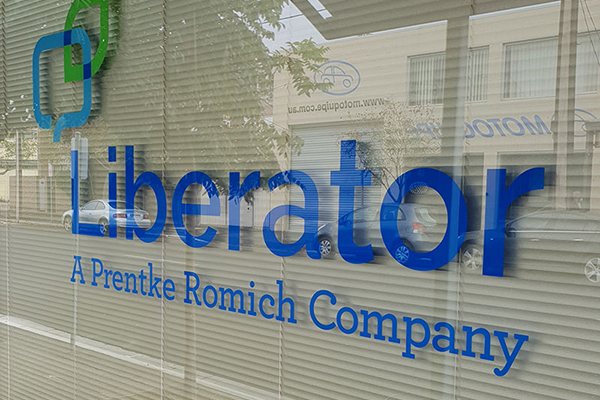 Liberator has Moved Offices