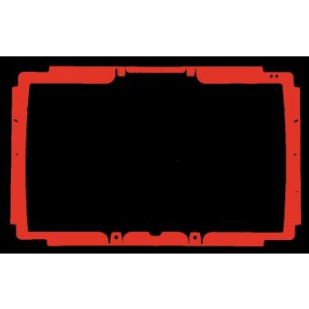 Accent 1400 Replacement Device Coloured Frame
